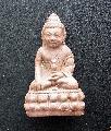 พระเนื้อผงกริ่งราชาโชคหลวงพ่อมุ๋ยรุ่น1ปี34วัดหนองบัวทองNO.02012